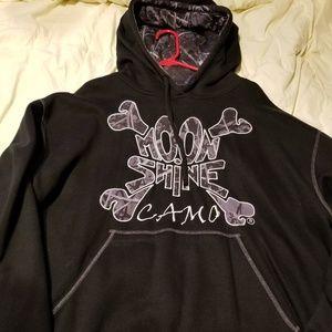 Moonshine camo sweatshirt